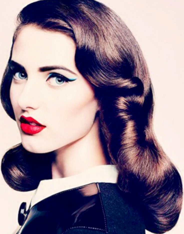 Love Is In The Hair Amazing 40s Hairstyle